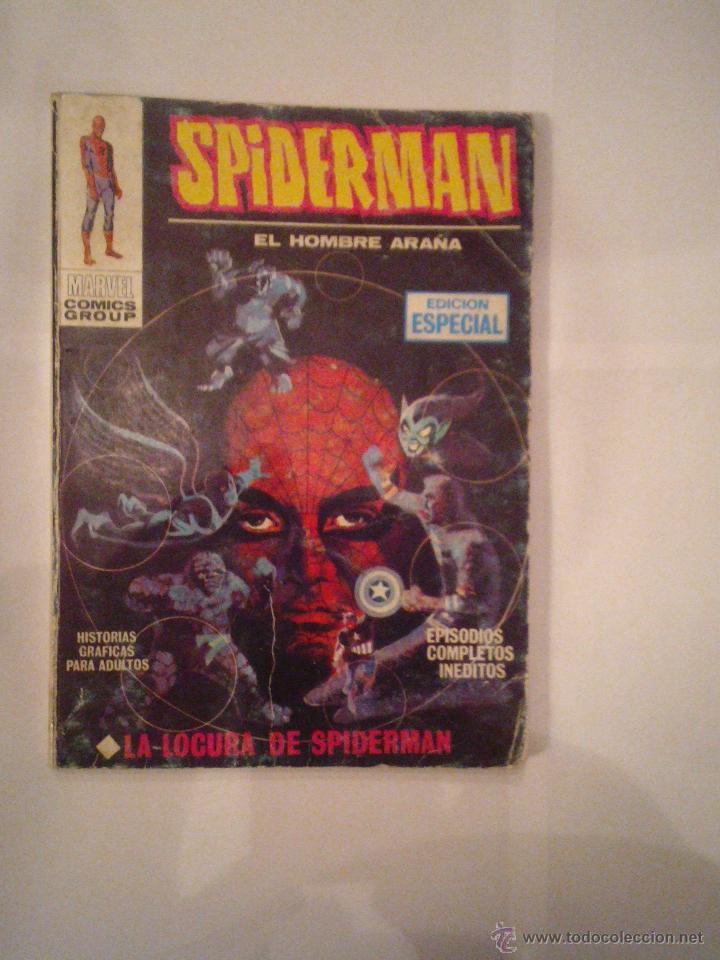 SPIDERMAN - VERTICE - VOLUMEN 1 - NUMERO 10 - 25 PESETAS - BUEN ESTADO - CJ 73 - GORBAUD (Tebeos y Comics - Vértice - V.1)