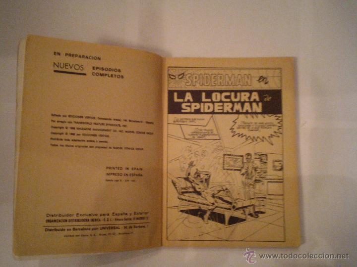 Cómics: SPIDERMAN - VERTICE - VOLUMEN 1 - NUMERO 10 - 25 PESETAS - BUEN ESTADO - CJ 73 - GORBAUD - Foto 3 - 47860586