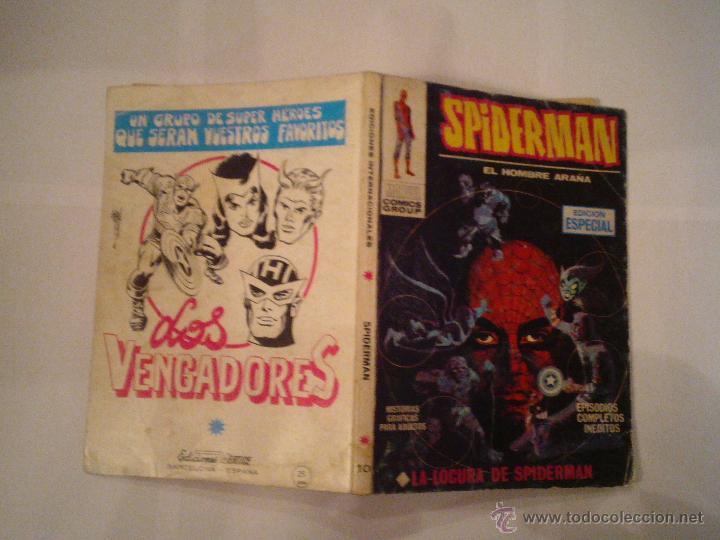 Cómics: SPIDERMAN - VERTICE - VOLUMEN 1 - NUMERO 10 - 25 PESETAS - BUEN ESTADO - CJ 73 - GORBAUD - Foto 5 - 47860586