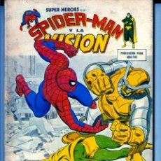 Cómics: SUPER HÉROES Nº 10 (ÚLTIMO DE LA COLECCIÓN) TACO VERTICE SPIDERMAN Y LA VISIÓN. Lote 43875671