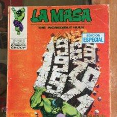 Cómics: LA MASA. TEMPESTAD EN EL TIEMPO SIDERAL. VERTICE. VOL. 1. Nº 16. 25 PTAS.. Lote 47901948