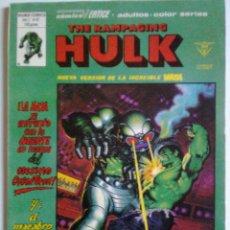 Cómics: THE RAMPAGING HULK Nº 12 -´¡EL ASALTO SECRETO!`-1981-B. SIENKIEWICZ-A. ALCALÁ-MUY RARO-CORRECTO-0571. Lote 156468994