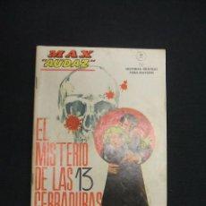 Cómics: MAX AUDAZ - Nº 11 - EL MISTERIO DE LAS 13 CERRADURAS - VERTICE - GRAPA - . Lote 47916052