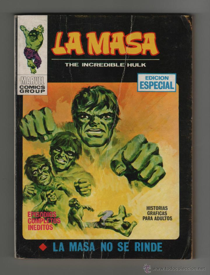 LA MASA - THE INCREDIBLE HULK - EDICION ESPECIAL Nº5. (Tebeos y Comics - Vértice - La Masa)