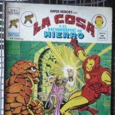 Cómics: SUPER HEROES V.2 Nº 47 LA COSA Y EL HOMBRE DE HIERRO. Lote 27964718