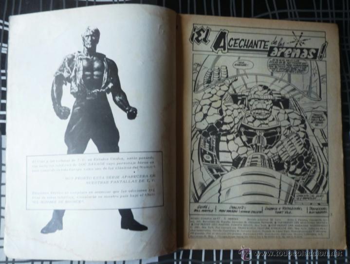 Cómics: SUPER HEROES V.2 Nº 47 LA COSA Y EL HOMBRE DE HIERRO - Foto 3 - 27964718