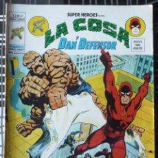 Cómics: SUPER HEROES V.2 Nº 41 - LA COSA Y DAN DEFENSOR. Lote 27818934