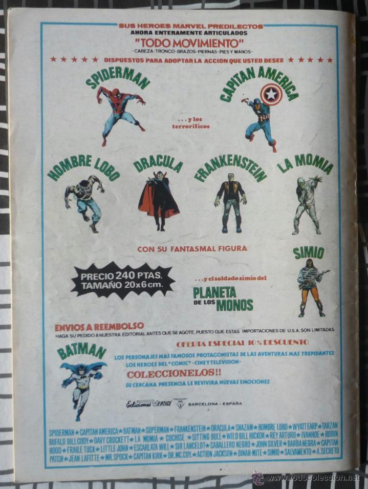 Cómics: SUPER HEROES V.2 Nº 41 - LA COSA Y DAN DEFENSOR - Foto 2 - 27818934