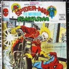 Cómics: ESPECIAL SUPER HEROES Nº 7 - SPIDERMAN Y EL MOTORISTA FANTASMA. Lote 39282327
