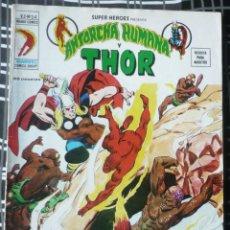 Cómics: SUPER HEROES V.2 Nº 24 - LA ANTORCHA HUMANA Y THOR. Lote 47967213