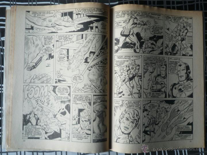 Cómics: SUPER HEROES V.2 Nº 24 - LA ANTORCHA HUMANA Y THOR - Foto 4 - 47967213
