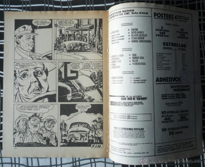 Cómics: SUPER HEROES V.2 Nº 24 - LA ANTORCHA HUMANA Y THOR - Foto 5 - 47967213