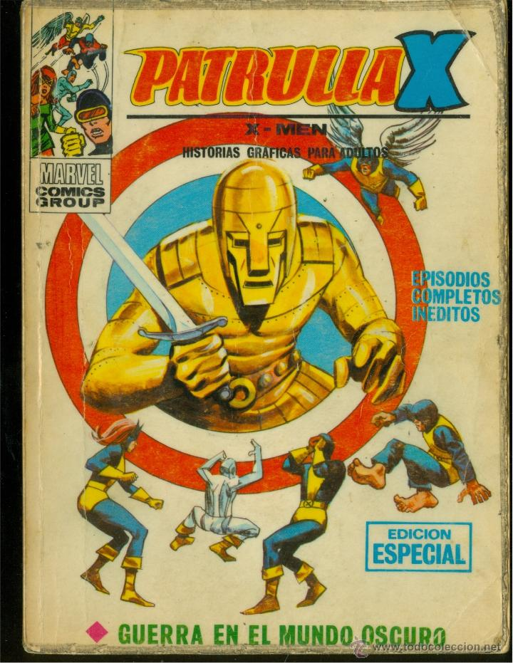 PATRULLA X Nº 15 (VÉRTICE TACO) (Tebeos y Comics - Vértice - V.1)