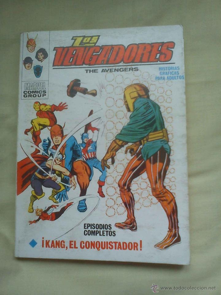LOS VENGADORES (KANG; Nº 4) COMIC MARVEL (VÉRTICE, 1969) COLECCIONISTA (Tebeos y Comics - Vértice - Vengadores)