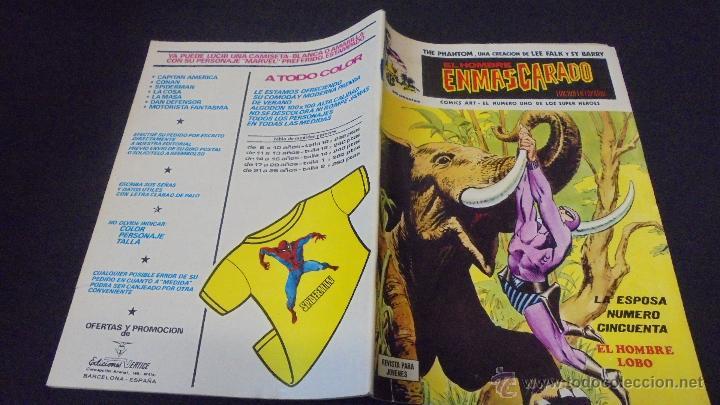 EL HOMBRE ENMASCARADO - Nº 19 - EDICIONES VERTICE. (Tebeos y Comics - Vértice - Hombre Enmascarado)