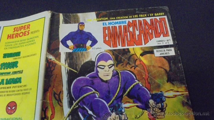 Cómics: EL HOMBRE ENMASCARADO - VOL 2 - Nº 5 - EDICIONES VERTICE. - Foto 2 - 47991252