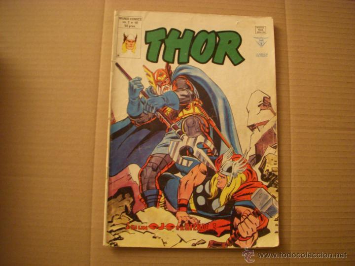 THOR Nº 48 VOLUMEN 2, EDITORIAL VÉRTICE (Tebeos y Comics - Vértice - Thor)