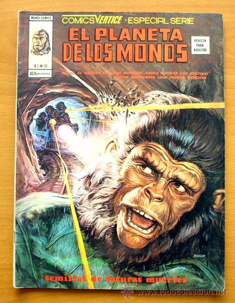 EL PLANETA DE LOS MONOS Nº 22 - EDICIONES VÉRTICE 1974 (Tebeos y Comics - Vértice - V.2)