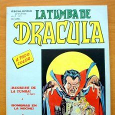 Escalofrio Vol. 2, nº 7 - Ediciones Vértice 1981 - La tumba de Drácula