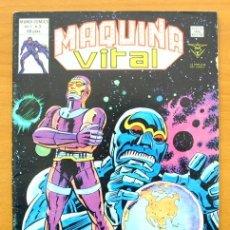 Cómics: MÁQUINA VITAL, Nº 3 - EDICIONES VÉRTICE 1980 - V.1. Lote 48208278