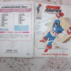 Cómics: CAPITAN AMERICA Nº 34, EDICIONES VERTICE, 1974,128 PAGINAS 21X15, MARVEL COMICS GROUP. Lote 48208774