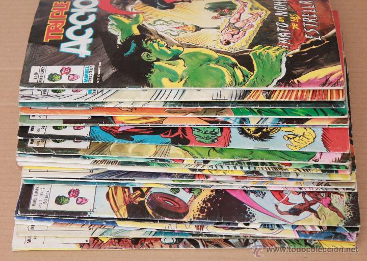 Cómics: VERTICE Vol 1 - TRIPLE ACCIÓN - COMPLETA 23 ejemplares - También sueltos - Foto 2 - 48245060