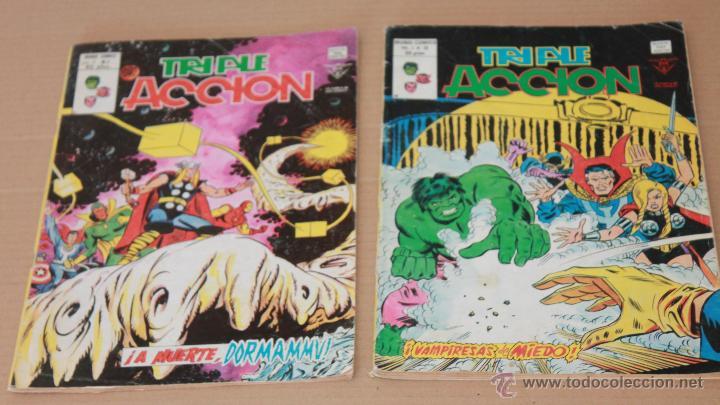 Cómics: VERTICE Vol 1 - TRIPLE ACCIÓN - COMPLETA 23 ejemplares - También sueltos - Foto 3 - 48245060