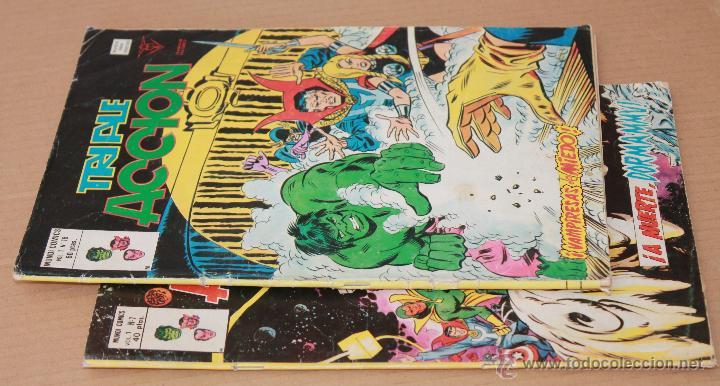 Cómics: VERTICE Vol 1 - TRIPLE ACCIÓN - COMPLETA 23 ejemplares - También sueltos - Foto 4 - 48245060