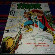 Cómics: VÉRTICE VOL. 2 THOR Nº 12. 35 PTS. 1975. TODAS LAS ESPADAS CONTRA ELLOS. BUEN ESTADO Y DIFÍCIL!!!. Lote 48294098