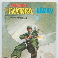 Cómics: ACCIONES DE GUERRA (WAR ACTIONS) - CON GARRY - Nº 18 - EL PEOR ENEMIGO - ED. VERTICE - 1974. Lote 48321648