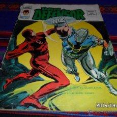 Cómics: VÉRTICE VOL. 2 DAN DEFENSOR Nº 3. 30 PTS. 1975. CUANDO ATACA EL GLADIADOR. DIFÍCIL!!!!!!!!!!. Lote 48353506