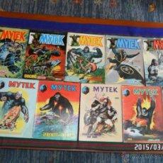 Cómics: VÉRTICE SURCO MYTEK COMPLETA 11 NºS. 100 PTS. AÑO 1983. DIFÍCIL!!!!!. Lote 48355243