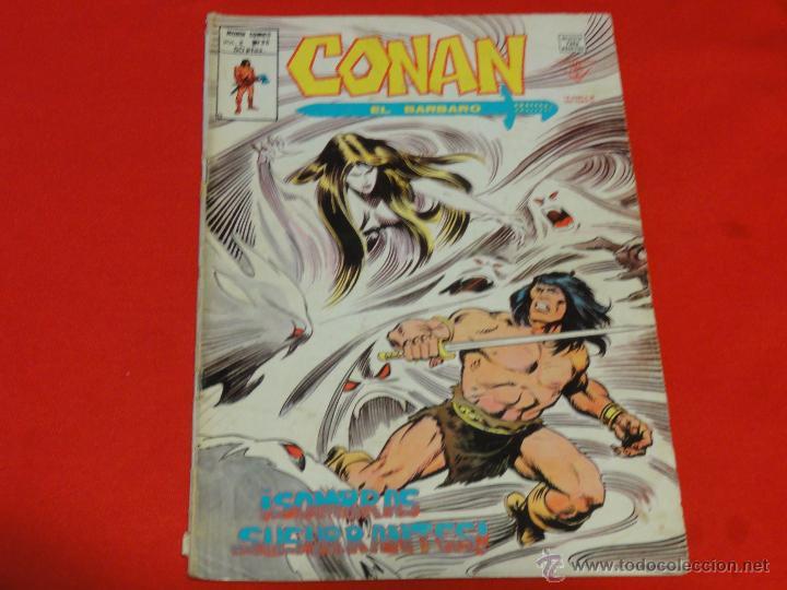 CONAN VOL.2. Nº 36.SOMBRAS SUSURRANTES! (Tebeos y Comics - Vértice - Conan)