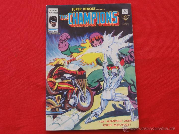 SUPER HEROES Nº 96. THE CHAMPIONS (Tebeos y Comics - Vértice - Super Héroes)