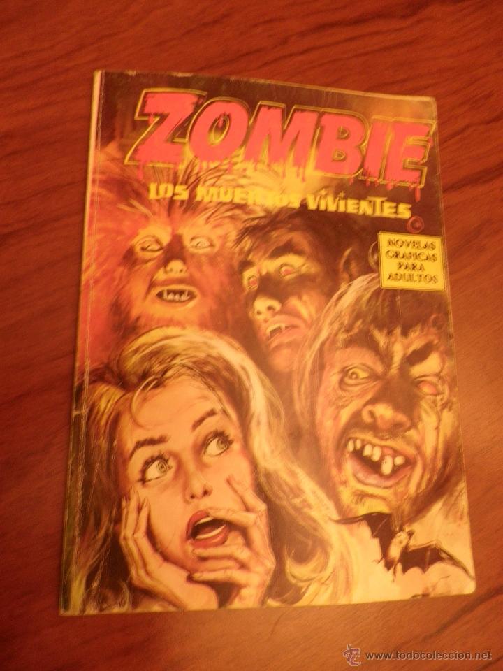 ZOMBIE LOS MUERTOS VIVIENTES 1974 (NOVELA GRÁFICA PARA ADULTOS) EDICIONES PETRONIO (Tebeos y Comics - Vértice - Terror)