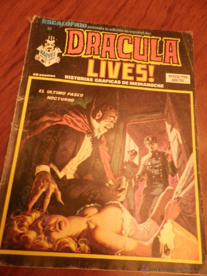 ESCALOFRIO Nº 32 DRACULA LIVES!. VERTICE. (Tebeos y Comics - Vértice - Terror)