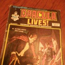 Cómics: ESCALOFRIO Nº 32 DRACULA LIVES!. VERTICE.. Lote 48484645