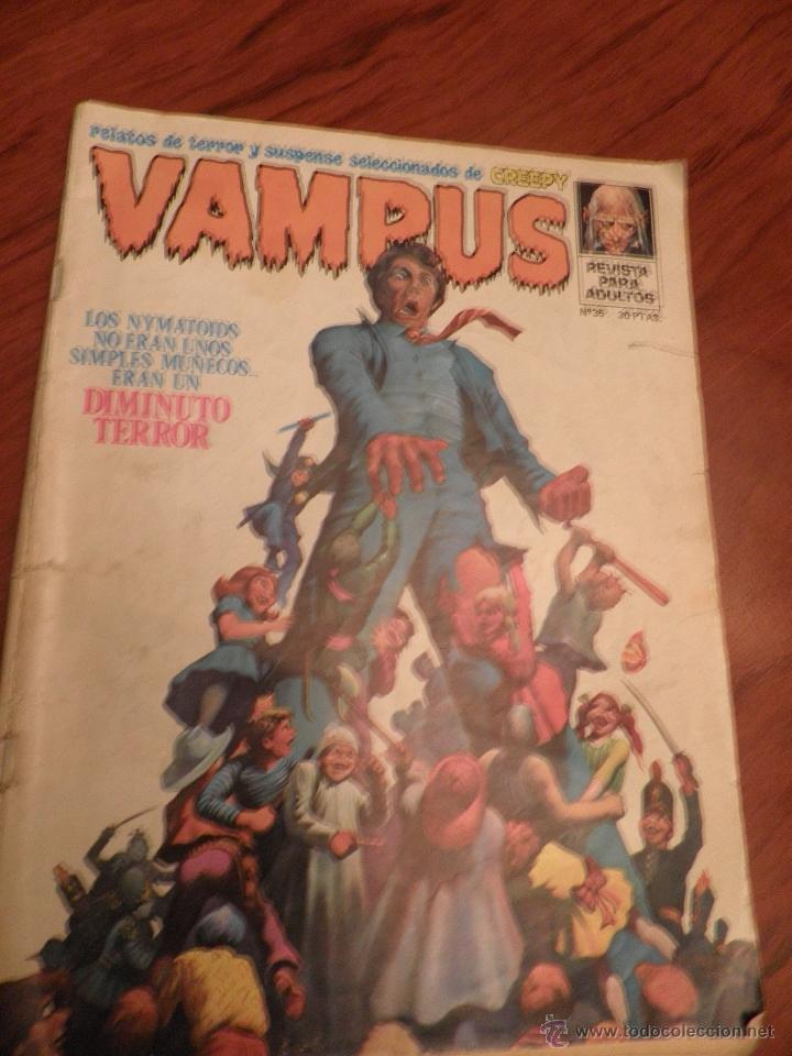 VAMPUS Nº 35, (Tebeos y Comics - Vértice - Terror)