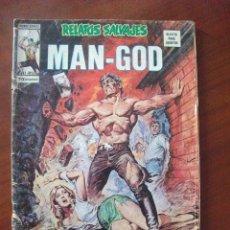 Cómics: RELATOS SALVAJES Nº 53 MAN GOD EDICIONES VERTICE. Lote 48591357