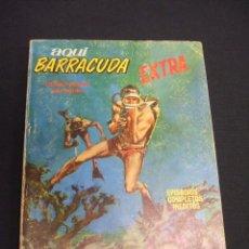Cómics: AQUI BARRACUDA - Nº 6 - OPERACION RELAMPAGO - EDICIONES VERTICE -. Lote 48613451