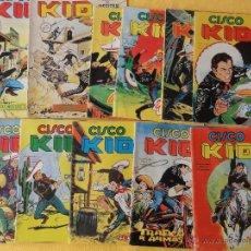 Cómics: CISCO KID LOTE DE 11 Nº. COMICS ART. VERTICE. Nº. 1-2-3-4-5-6-7-8-9-14-17. Lote 48717298