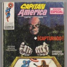 Cómics: CAPITAN AMERICA Nº 2 (VERTICE 1969) CAPTURADO.. Lote 48633444