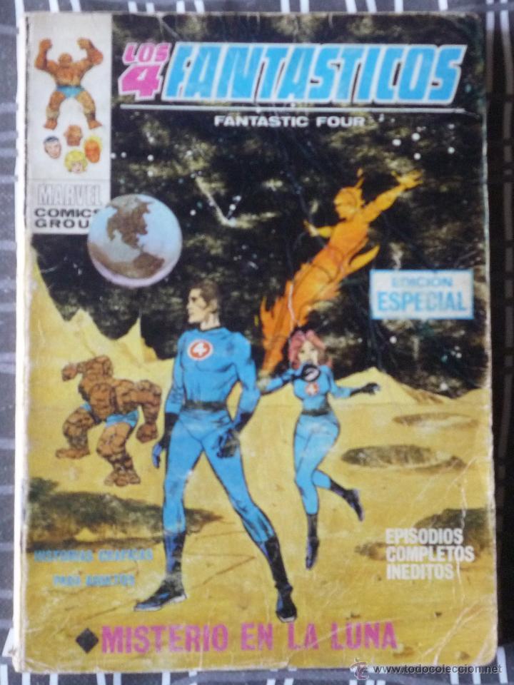 LOS 4 FANTASTICOS V.1 Nº 7 (Tebeos y Comics - Vértice - 4 Fantásticos)