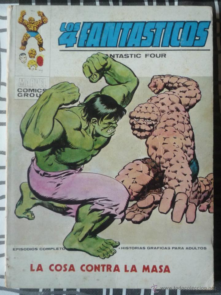LOS 4 FANTASTICOS V.1 Nº 56 (Tebeos y Comics - Vértice - 4 Fantásticos)