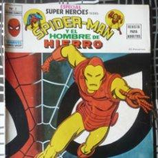 Cómics: ESPECIAL SUPER HEROES Nº 2 - SPIDERMAN Y EL HOMBRE DE HIERRO. Lote 48854173