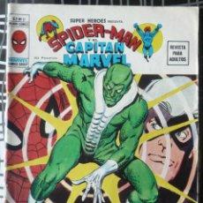 Cómics: SUPER HEROES V. 2 Nº 11 - SPIDERMAN Y EL CAPITAN MARVEL. Lote 48854369