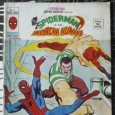 Cómics: ESPECIAL SUPER HEROES Nº 14 - SPIDERMAN Y LA ANTORCHA HUMANA. Lote 48854489