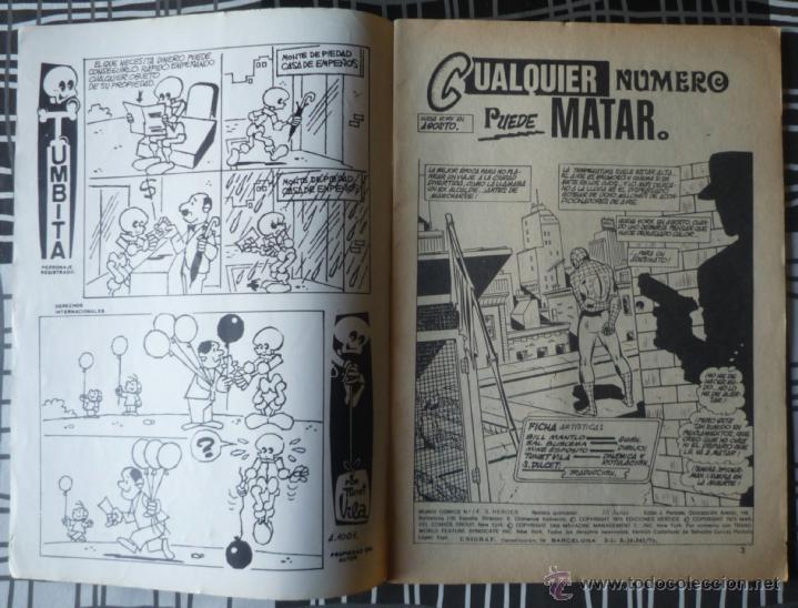 Cómics: ESPECIAL SUPER HEROES Nº 14 - SPIDERMAN Y LA ANTORCHA HUMANA - Foto 3 - 48854489