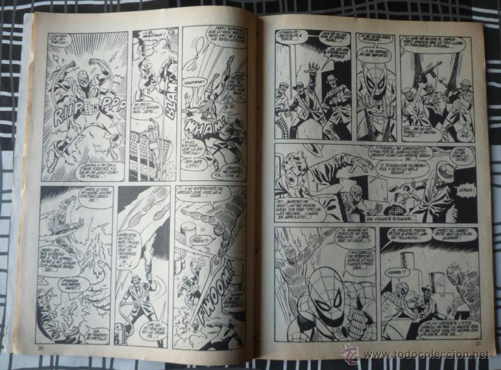 Cómics: ESPECIAL SUPER HEROES Nº 14 - SPIDERMAN Y LA ANTORCHA HUMANA - Foto 4 - 48854489