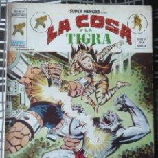 Cómics: SUPER HEROES V. 2 Nº 59 - LA COSA Y TIGRA. Lote 48854573